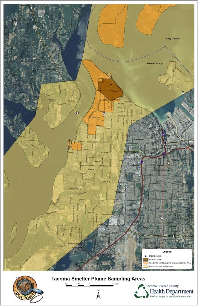 Sampling Areas Map